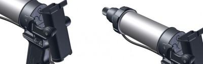 Pistolet pneumatique PR colle bi-composant PLx400