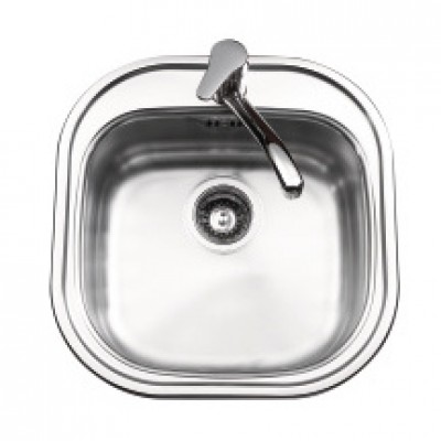 Evier inox cuba lis 1c carr basic segment for Acheter evier inox