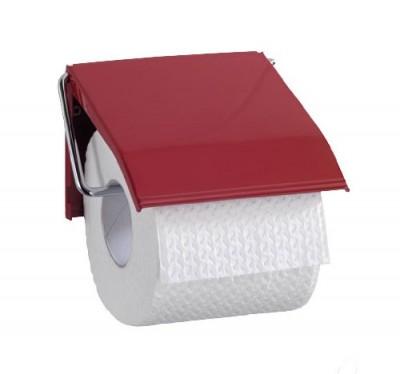 Porte-papier à rouleaux bordeaux