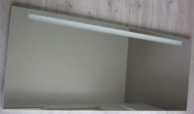 Miroir actu l 180 h64 clairage horizontal burgbad la for Miroir horizontal