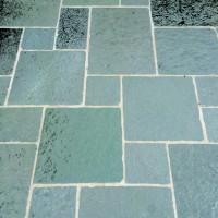 Dallage calcaire TANDUR gris bords éclatés vieillis 60x30x3cm
