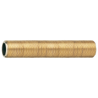 Tube laiton fileté 1/2 longueur 50 diamètre interieur 14,2 RIQUIER
