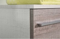 Caisson sous vasque nu ANCODESIGN 1 coulissant wood blanco 800x300mm