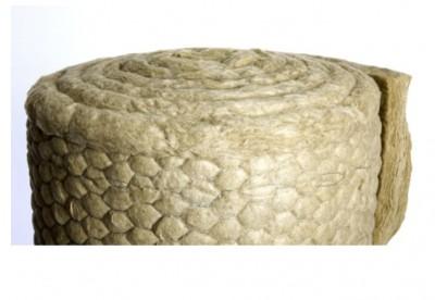 Nappe grillagée en laine de roche TECH WIRED MAT 3.0 épaisseur 50mm 5x0,6m température maxi 550°C ISOVER