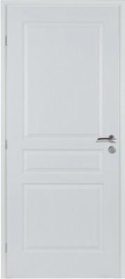 Bloc-porte postformé 3 panneaux à recouvrement - 204x73cm droite poussant - Huisserie NEOLYS 74mm - RIGHINI