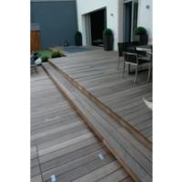 Lame terrasse IPE 21x145x2750mm rainurée