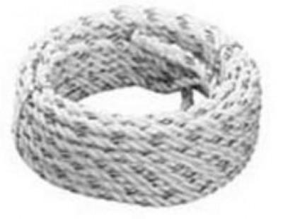 Cordage (drisse) diamètre 11mm avec boucle et arrêt 15m