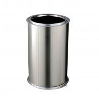 Elément droit conduit intérieur inox/galva, diamètre nominal 230mm, longueur 45cm
