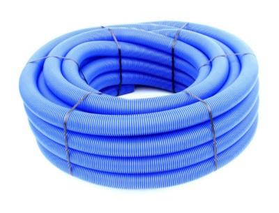 Gaine PVC A.E.P bleu diamètre 63mm rouleau 50m