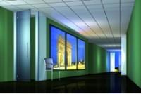 Plafond SMART SANDILA 90% 70/23N bord droit micro perforé chant 3 12 panneaux 14x600x600mm soit 4.320m2