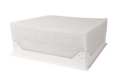 Trappe plafond isolée blanc 510x510mm dimensions intérieures R:5