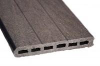 Lame écran bois composite ELEGANCE gris anthracite 21x150x1783mm