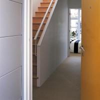 Bloc-porte PLANE EI 30 prépeint 830mm droite poussant huisserie.88x57 rive droite serrure sureté + Joint