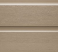 Bardage PVC AIGIS mokka soit 1.134m2 270x4200