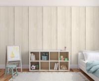 Plaque de plâtre décorative BD 13x2600x600mm Ikebana + adhésif colis de 2 bois