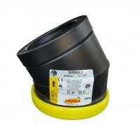 Elément de coude 30° ZI inox-galva diamètre 150mm