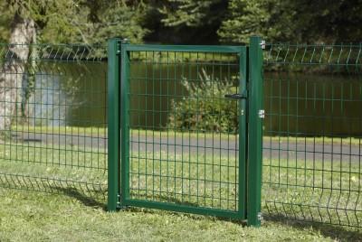 Portillon AXOR sûreté à sceller vert 1,00m DIRICKX