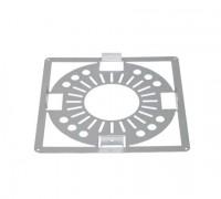 Plaque écart feu galvanisé diamètre 139/200 TEN