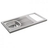 D stockage cuisine vier plan de travail kitchenette pas cher d stockage habitat - Cuisinette moderna ...