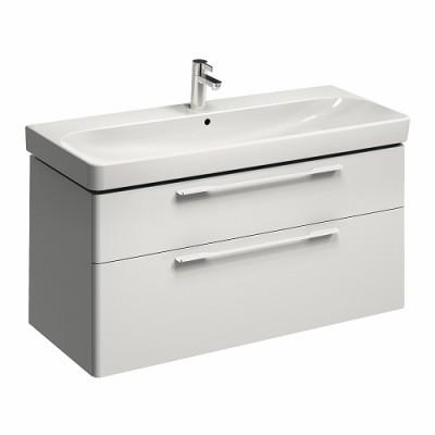 Plan de toilette JAM 1 trou autoportant blanc 120cm ALLIA