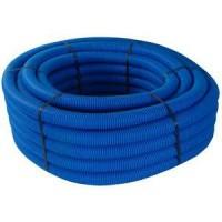 Gaine JANOFLEX bleu diamètre 50mm 50m JANOPLAST