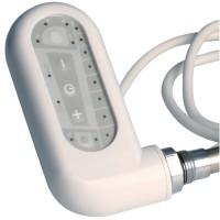 Boîtier électrique classique pour sèche-serviettes 600W blanc 795mmx115mmx100mm