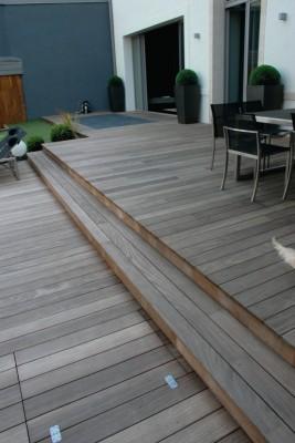 Lame de terrasse ipé rainurée 21x145x1850mm