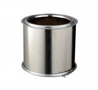 Conduit interieur inox/galva élément droit, diamètre nominal 230mm, longueur 25cm