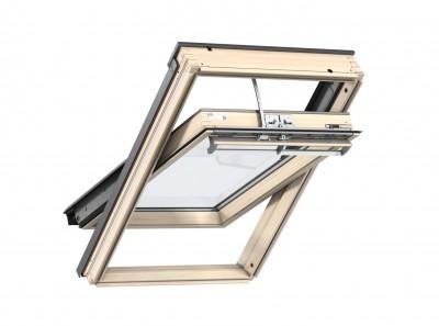 fen tre de toit rotation manuelle ggl standard uk04 134x98cm bois quimper 29000. Black Bedroom Furniture Sets. Home Design Ideas