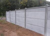 Plaque béton lisse ciment gris 35x500x1920mm