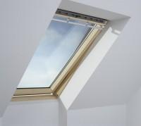 Fenêtre de toit à rotation manuelle GGL Standard - UK04 134x98cm - bois
