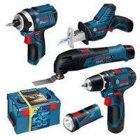 Lot 5 outils 12V BOSCH