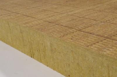 Panneau isolant en laine de roche HARDROCK 2 ENERGY 1200x1000mm epaisseur 100mm 28m²/p 24 panneaux/palette ROCKWOOL