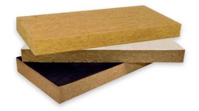 Panneau en laine de roche ROCKFEU 1200x600mm épaisseur 100mm 17m²/p 24 palette/pièces ROCKWOOL