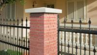 Chapeau pilier 40x40x6cm béton PREFABRICADOS