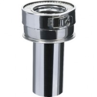 Réduction conique INOX-GALVA diamètre 200mm P200I-150 POUJOULAT