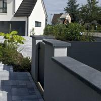 Couvertine gris 60x35x5cm EUROBETON INDUSTRIE