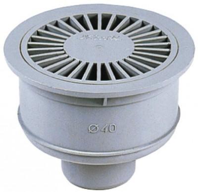 Siphonnette sortie verticale diamètre 40mm NICOLL