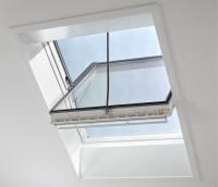 Fenêtre de toit électrique à rotation GGU INTEGRA CONFORT 134x140cm VELUX