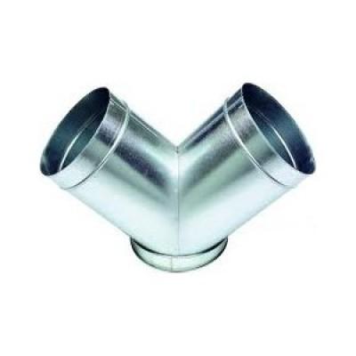 Culotte acier 200/2x90 160mm ATLANTIC CLIM/VENTIL