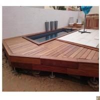 Lame de terrasse CUMARU KD face lisse 21x145x2150mm CIBM
