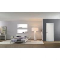 Bloc-porte alvéolaire MODERNA Cubisme huisserie 90mm prépeint résineux PDDT E83 poussant gauche JELD-WEN