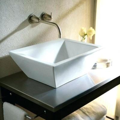 Vasque à poser de luxe, design VESSEL white 46,5x36,5cm JACOB DELAFON-KOHLER