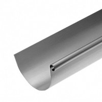 Gouttière zinc demi-ronde ardoise développé 250mm longueur 4ml RHEINZINK