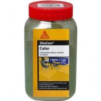 Colorant en poudre SIKACEM vert bidon 900g SIKA