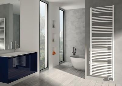Radiateur sèche-serviettes ONDEO blanc 500W 944x495mm