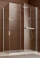 Paroi de douche DJANGO angle pivotant porte fermée 90 100 LEDA