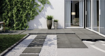 Carrelage extérieur FACTORY 2.0 anthracite naturel 60x60cm ARTE DESIGN