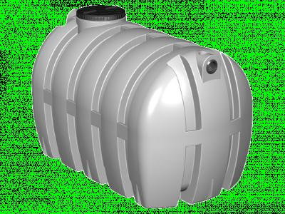 Fosse septique polyéthylène toutes eaux rectangulaire avec préfiltre 4000l GAP GO