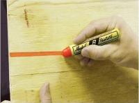 Bâton de peinture PAINTSTIK B Economique pour surface rugueuse rouge SOPPEC